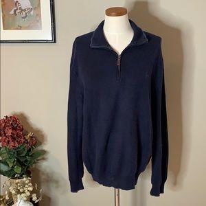 Polo by Ralph Lauren 1/4 Zip Pima Cotton Sweater